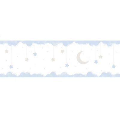 Cenefa Estrellas 5 Mt Azul Gris Lillaby