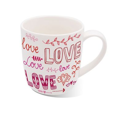 Mug Love Porcelana 13 Oz