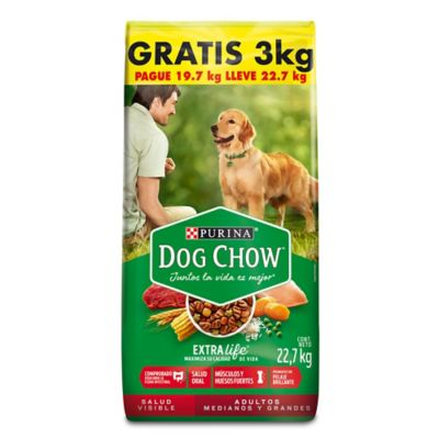 Alimento Perro Adulto Pague 19.7 Lleve 22.7Kg