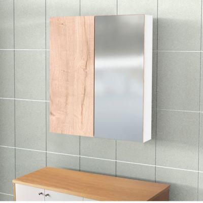 Gabinete Espejo Ela 70x60x13.2-Duna Blanco