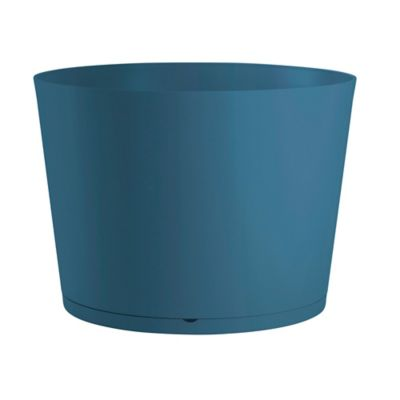 Macetero Plásticos Uv Tokyo D80 Azul