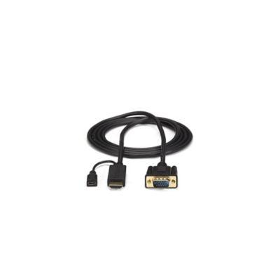 Cable Conversor HDMI VGA 1.8 Metros Negro