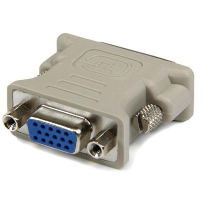 Adaptador DVI-I Macho a VGA H Beige