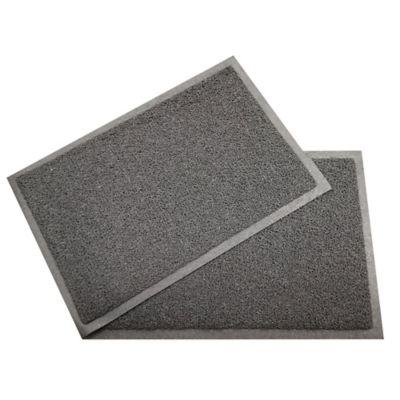 Set x2 Tapetes Pvc 60x40 cm Gris
