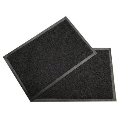 Set x2 Tapetes Pvc 60x40 cm Negro