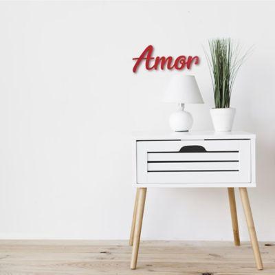 Aplique Amor 15 cm Rojo Houston