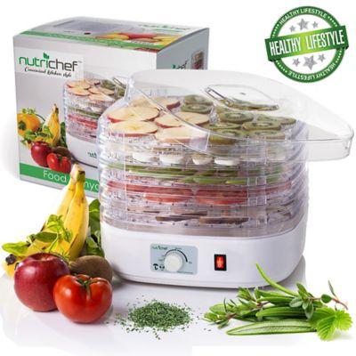 Deshidratador de Alimentos con Graduación de Temperatura 120 V Blanco