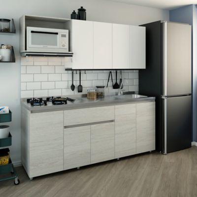 Cocina Integral Piemonte 1.8 Metros Incluye Mesón Derecho