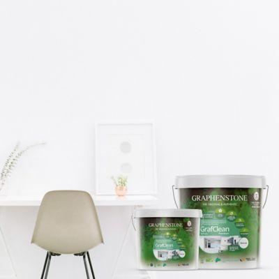 Pintura para Interior Blanco Grafclean Baños y Cocinas 15 Litros GRATIS 4 Litros de la Misma Referencia