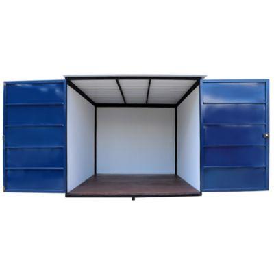 Modulo Ensamblable 3 x 2.4 Mts Placa Fibrocemento Azul