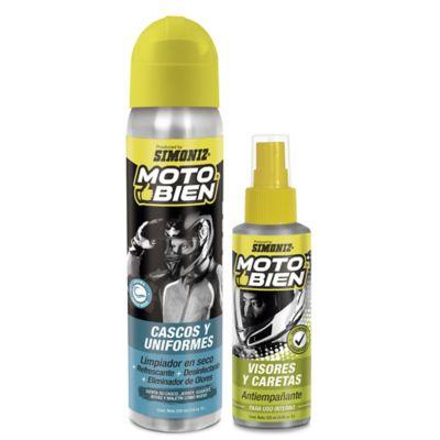 Combo Limpiador Cascos + Ant Care Moto Bien