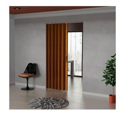 Puerta Plegable Madera Mdp 486-530x240 cm Ap. Izquierda-Caramelo