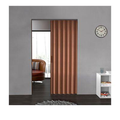 Puerta Plegable Madera Mdp 396-440x240 cm Ap. Derecha-Espresso
