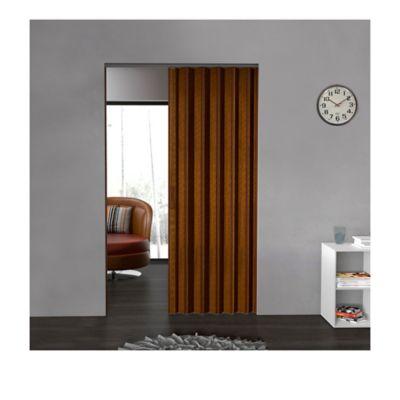 Puerta Plegable Madera Mdp 486-530x240 cm Ap. Derecha-Caramelo