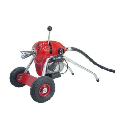 Destapador de Cañerías Motor 1 Hp 50-200M Rojo