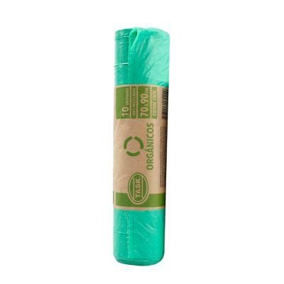 Bolsa Basura Verde 70x90cm 10 Unidades Residencial