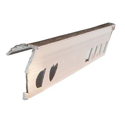 Win en Aluminio Cobre Cepillado 2.5 Metros