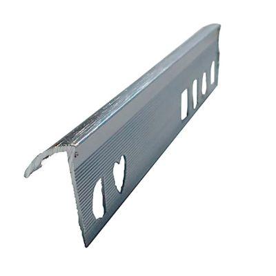 Win en Aluminio Cenizo Cepillado 2.5 Metros