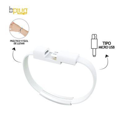 Cable Carga Rápida Tipo Manilla Conector Micro USB