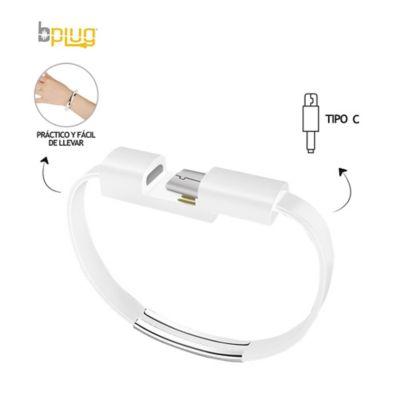 Cable De Carga Rapida Tipo Manilla Conector Tipo C