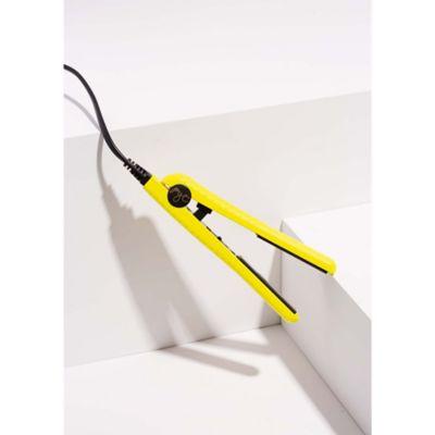 Mini Plancha de Cerámica Amarilla 110V