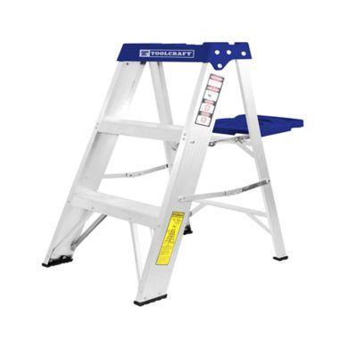 Escalera Tijera De Aluminio Tipo III 2 Escalones
