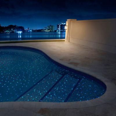 Mosaico Vidrio Fireglass 412 fg 31.5x31.5cm Luminiscente Blanco