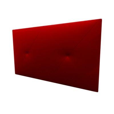 Cabecero Flotante Queen 160x60 Exes Ecocuero Rojo
