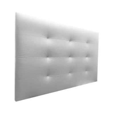 Cabecero Entero Sencillo 100x120 Bogle Ecocuero Blanco