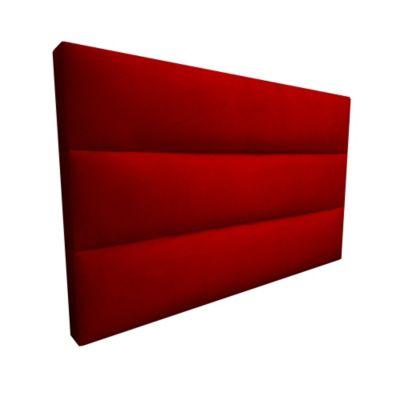 Cabecero Flotante King 200x60 Silon Ecocuero Rojo