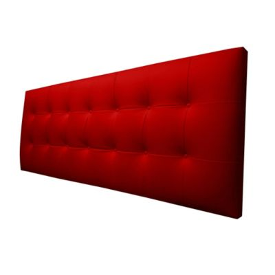 Cabecero Flotante Sencillo 100x60 Pegassi Ecocuero Rojo