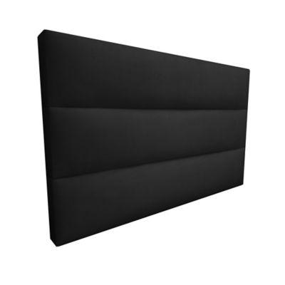 Cabecero Flotante Doble 140x60 Silon Ecocuero Negro