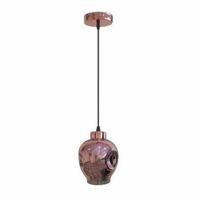 Lámpara Colgante 1 Luz Vintage Hend Cobre E27