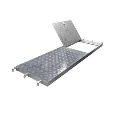 Plataforma en Aluminio con Escotilla de 2572mm x 610mm