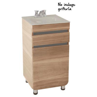 Mueble Aluvia Miel Lvm Bone 45x45 Cms
