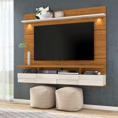 Panel para TV Lana 1.8 Natural Blanco/Apagado