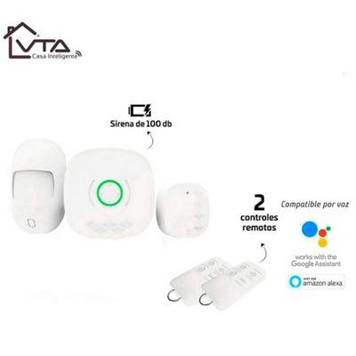 Kit de Alarma Sonora Inteligente con Sensor de Movimiento + 2 Sensores de Apertura Para Puertas Y Ventanas Wifi