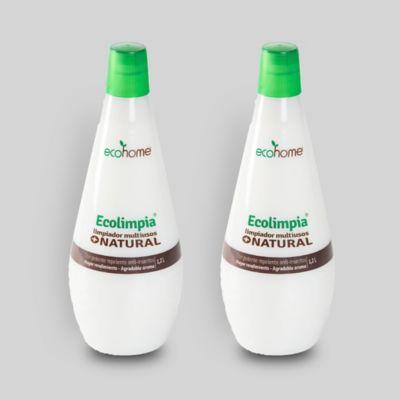 Set Repelente Limpiador Multiusos Ecológico 1.2Lt x 2Und