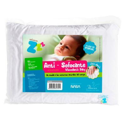 Almohada Infantil Antisofocante Visco Blanco