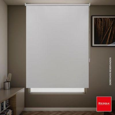 Persiana Enrollable Blackout Línea Básica 160x180 cm Blanco