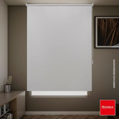 Cortina Enrollable Blackout Linea Básica 100x180 Blanco