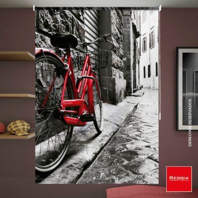 Persiana Enrollable Blackout Bicicleta 120x180 cm