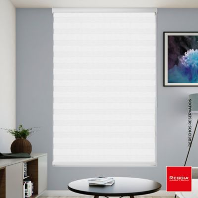 Persiana Roller Dúo 160x180 cm Blanco Glase