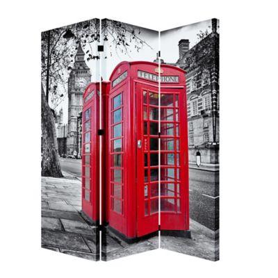 Biombo Cabina Telefono 120x180 cm