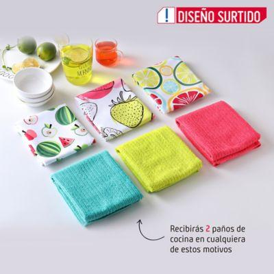 Setx2 Paño Cocina Sandia