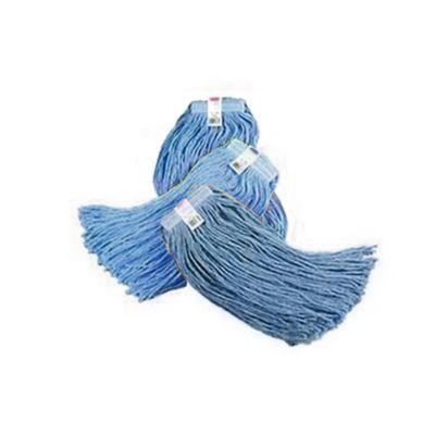 Combo Trapeador Fibra Sintética 450Gr Azul x 3Unids