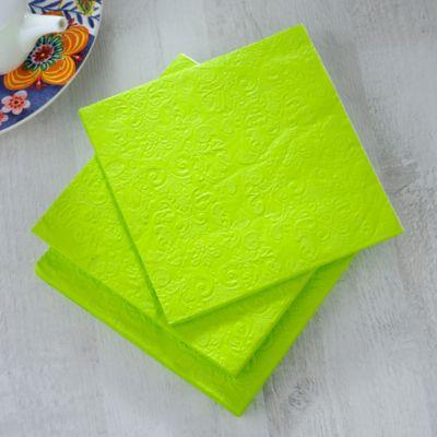 Servilleta Papel33x33cm Verde