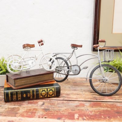Bicicleta 16 x 8 Cm Blanco Bicicletas