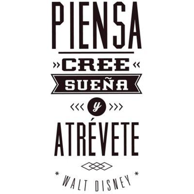 Vinilo Decorativo Walt Disney Negro