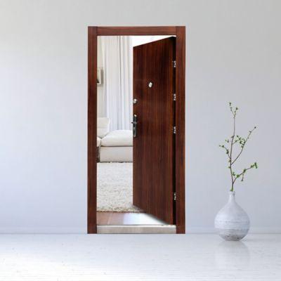 Puerta Seguridad Viena Doble Cerradura 0.96x2.05 Mts. Ap. Derecha